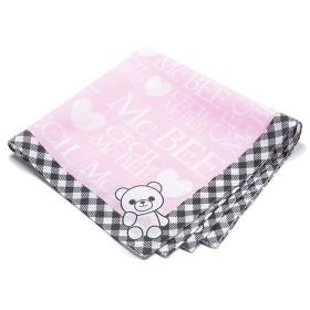 セシルマクビー ナフキン ピンク 女の子 学童用品 デザインハンカチ BN19N-CM3