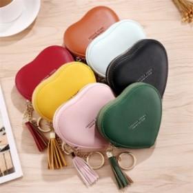 二つ折り財布 ミニ財布 かわいい 小銭入れ おしゃれ レディース 大容量 使いやすい 入れ 大容量 おしゃれ かわいい ハート型財布