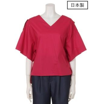 72%OFF dolly-sean (ドリーシーン) 【日本製】タイプライタープルオーバー ピンク