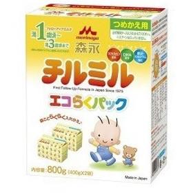 チルミル エコらくパック つめかえ用 ( 400g2袋入 )/ チルミル