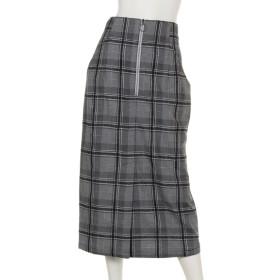 67%OFF mystic (ミスティック) モールチェックタイトスカート ブラック