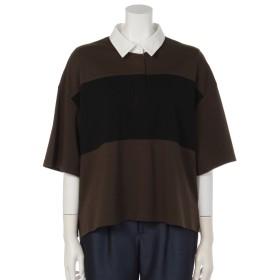 85%OFF Fiori・tura (フィオリトゥーラ) オーバーサイズラガーシャツ カーキxクロxオフ