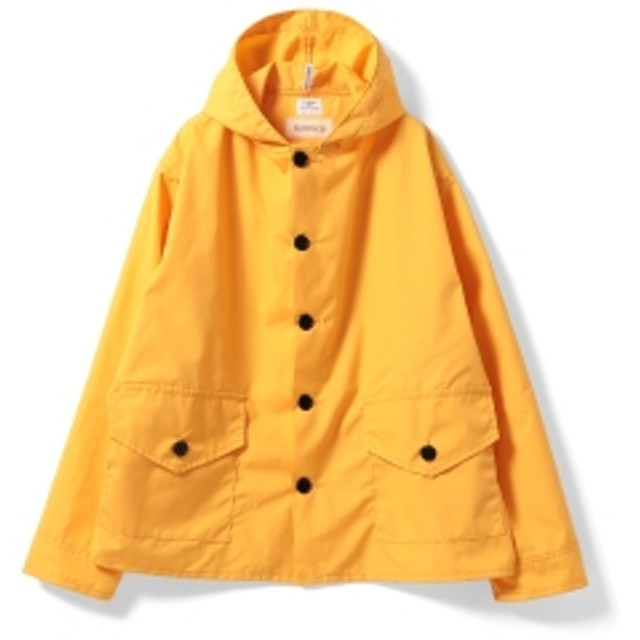 2d5f3ad3e6 <MEN> NECESSARY or UNNECESSARY × fennica / 別注 ボート パーカ メンズ ブルゾン YELLOW L