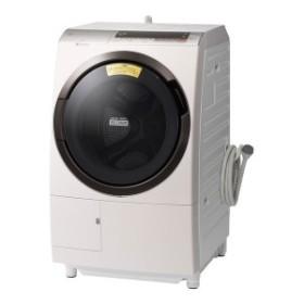 日立 BD-SX110CL ヒートリサイクル 風アイロン ビッグドラム [ななめ型ドラム式洗濯乾燥機 (洗濯11.0kg/乾燥6.0kg) 左開き]