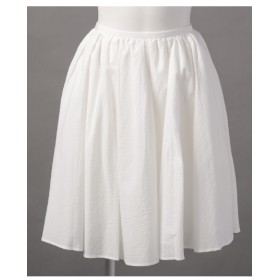 78%OFF Mademoiselle TARA (マドモアゼルタラ) スカート ホワイト