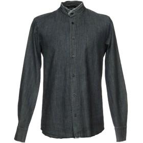 《9/20まで! 限定セール開催中》FAMILY FIRST Milano メンズ デニムシャツ ブルー L コットン 100%