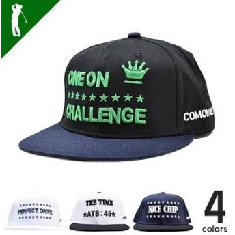 ゴルフ メンズ 帽子 キャップ メンズ おしゃれ ゴルフ用品 ベースボールタイプ COMON GOLF サンタリート (CG-CP8158B)golf