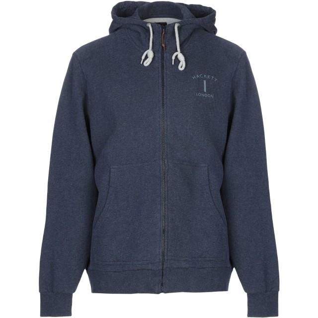 《期間限定 セール開催中》HACKETT メンズ スウェットシャツ ブルー S コットン 50% / ポリエステル 50%