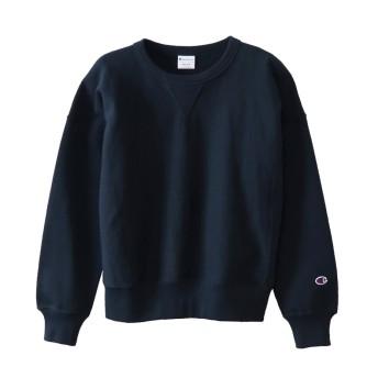ウィメンズ リバースウィーブ(10oz)クルーネックスウェットシャツ 18FW チャンピオン(CW-N008)【5400円以上購入で送料無料】