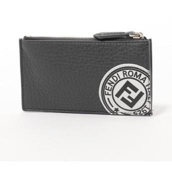 FENDI フェンディ 7M0227 A4NR F0X2Q レザー カードケース コインケース ミニ財布 F0X2Q メンズ