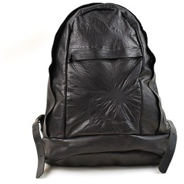 a55b910281c4 【中古】Kagari Yusuke カガリ ユウスケ オールレザーリュック バックパック ブランド ブラック