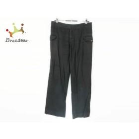 ホコモモラ JOCOMOMOLA パンツ サイズ40 XL レディース 黒   スペシャル特価 20190427【人気】