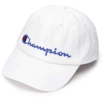 BASE STATION / ベースステーション champion チャンピオン ツイルロゴ ローキャップ