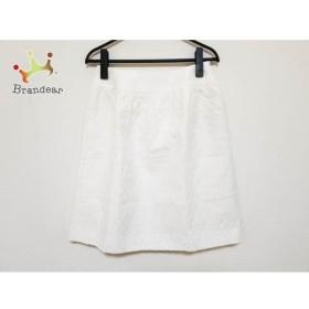エムズグレイシー M'S GRACY スカート サイズ38 M レディース 美品 白     スペシャル特価 20190505