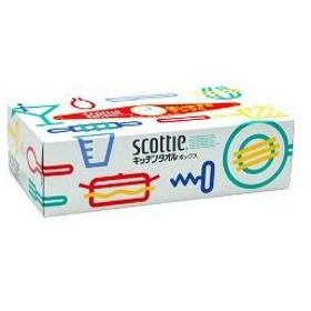 スコッティ キッチンタオル ボックス ( 150枚(75組)入 )/ スコッティ(SCOTTIE)