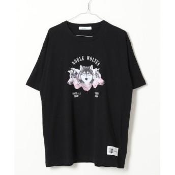 (niko and./ニコアンド)【セレッソ大阪】ウルフTシャツ/ [.st](ドットエスティ)公式