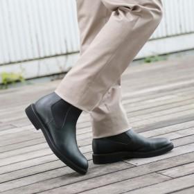 タケオ キクチ TAKEO KIKUCHI CS レインサイドゴアブーツ [ メンズ シューズ ブーツ 防水 レイン ] (ブラック)