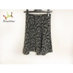 ジャスグリッティー JUSGLITTY スカート サイズ0 XS レディース 黒×白       スペシャル特価 20191022