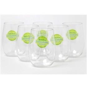 アームカンパニー トライタン ステムレスワイングラス 割れないグラス ( 6コ入 )