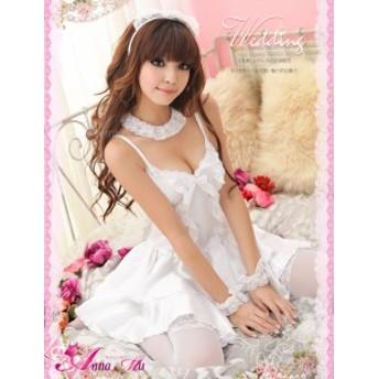 ドレス 花嫁 ハロウィン コスプレ コスプレ衣装 コスチューム 仮装 セクシー ハロウィーン プリンセス 団体