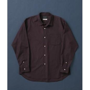 アーバンリサーチ トーマスメイソンオーバーシャツ メンズ D/PURPLE L 【URBAN RESEARCH】