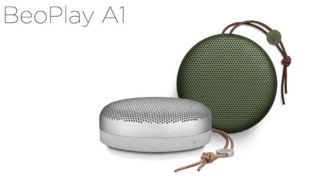 丹麥品牌 B&O PLAY  Beoplay A1 藍芽喇叭 360環繞音效 (銀)