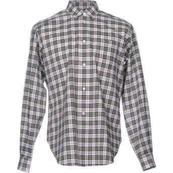 《セール開催中》TRS BIEN メンズ シャツ ブラック 48 コットン 100%