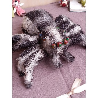 蜘蛛(グレー) くも ぬいぐるみ