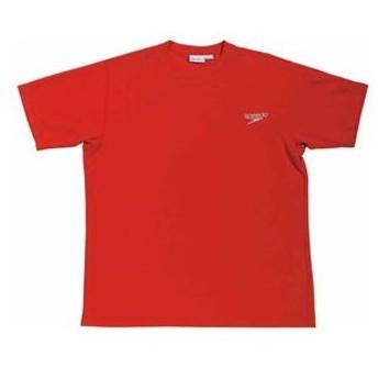 スピード 男女兼用 Team Apparel Tシャツ(レッド・S) Speedo GW-SD14T01-RE-S 返品種別A