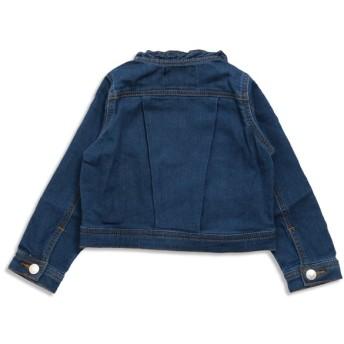 ジャケット・ブルゾン - F.O.FACTORY ノーカラーデニムジャケット
