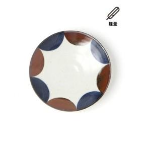 (LAKOLE/ラコレ)【軽量】やちむん風琉球パターン取り皿/ [.st](ドットエスティ)公式