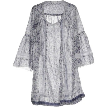 《セール開催中》POUPETTE ST BARTH レディース ミニワンピース&ドレス パープル XS コットン 100%