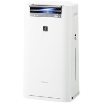 SHARP KI-HS50-W ホワイト系 [空気清浄機 (空気清浄~23畳/加湿~15畳)]