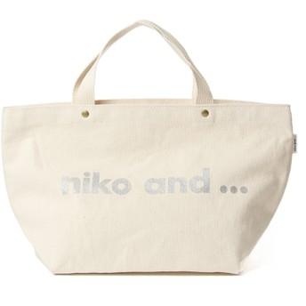 (niko and./ニコアンド)オリジナル ニコロゴトートバッグM/ [.st](ドットエスティ)公式