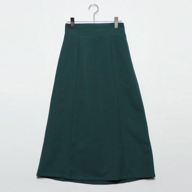 スタイルブロック STYLEBLOCK ジャージーツイルロングスカート (グリーン)