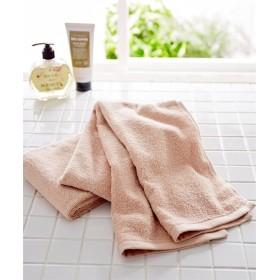 肌ざわりのいいデイリーカラー中厚手スリムバスタオル同色2枚セット(約34×120cm) バスタオル