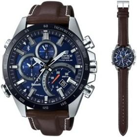 CASIO カシオ EDIFICE モバイルリンクソーラー 腕時計 EQB-501XBL-2AJF