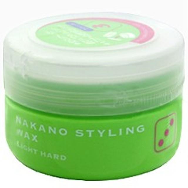 ナカノ NAKANO スタイリング ワックス 3 ライトハード 90g ヘアケア STYLING WAX 3 LIGHT HARD