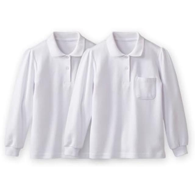 長袖ポロシャツ2枚組(ポケットあり)(女の子) 制服