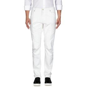 《期間限定セール開催中!》PIERRE BALMAIN メンズ ジーンズ ホワイト 29 97% コットン 3% ポリウレタン