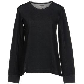 《期間限定セール開催中!》LAREIDA レディース スウェットシャツ ブラック XS コットン 100%
