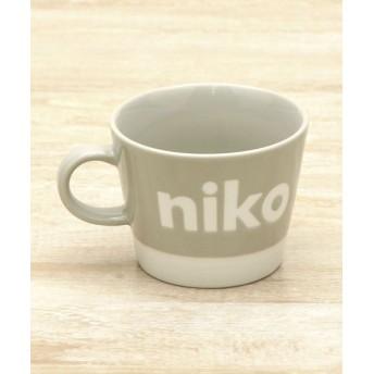 (niko and./ニコアンド)オリジナル ニコロゴタップリマグ/ [.st](ドットエスティ)公式