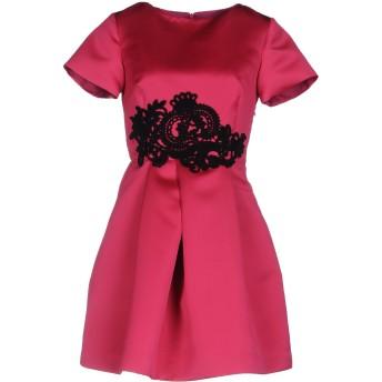 《セール開催中》P.A.R.O.S.H. レディース ミニワンピース&ドレス フューシャ XS ポリエステル 100% / アクリル / ウール