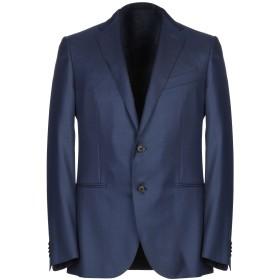 《期間限定セール中》CARUSO メンズ テーラードジャケット ブルー 48 ウール 68% / シルク 32%