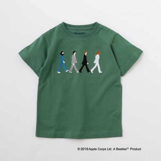 [マルイ] SHIPS KIDS:<パパとおそろい>【THE BEATLES(ザ・ビートルズ)】TEE(145-/シップス キッズ(SHIPS KIDS)