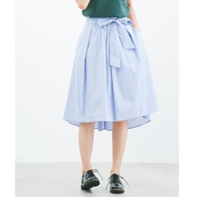 Rouge vif la cle / ルージュ・ヴィフ ラクレ ストライプフィッシュテールスカート