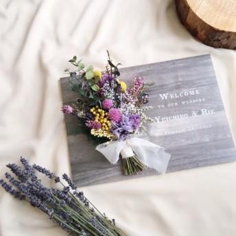 ウェルカムボード シャビーシックウェディング │結婚式
