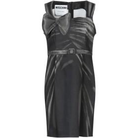 《9/20まで! 限定セール開催中》MOSCHINO レディース ミニワンピース&ドレス 鉛色 38 コットン 97% / 指定外繊維 3%