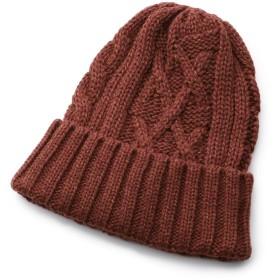 40CARATS&525(フォーティーカラッツアンドゴーニーゴ) ◆バルキーウールコードニットキャップ[ メンズ 帽子 ニットキャップ ]
