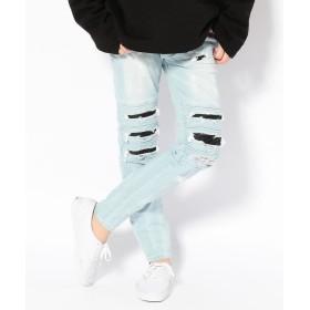 エルエイチピー DankeSchon/ダンケシェーン/Bellows Biker Pants メンズ SACKS S 【LHP】